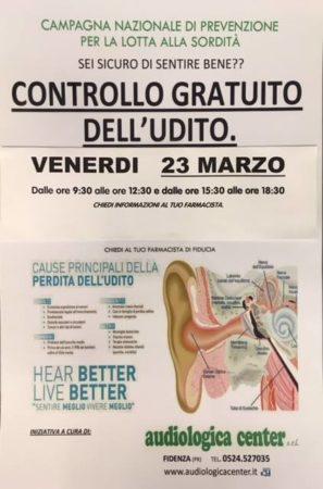 controllo udito
