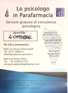 Lo Psicologo in Parafarmacia
